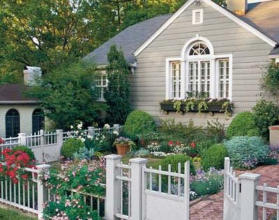front yard cottage garden | Found on repinned.net
