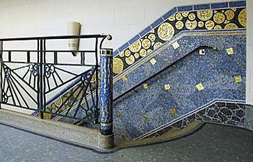 Isidore Odorico Ou La Mosaique A L Ouest Floridum Mare Art Deco Pour Salle De Bain Architecture Art Deco Art Deco