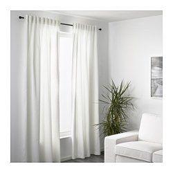 MERETE Tenda semioscurante, 2 teli - sbiancato bianco   Idee ...