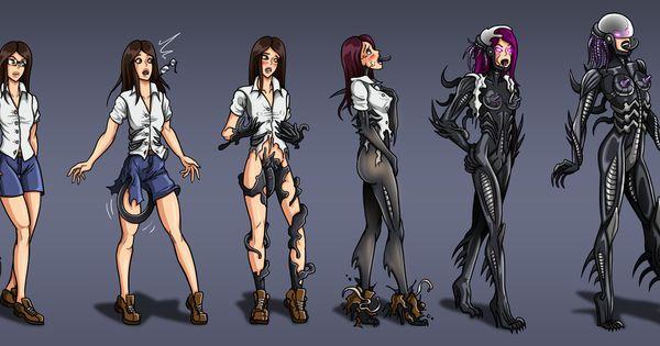 Alien Heroine Transformation (TF-sale commission) by Re ...