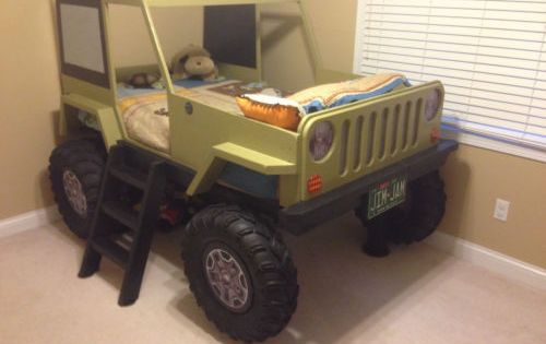 Jeep Bed Plans Twin Size Car Bed Car Bed Boys And Diy