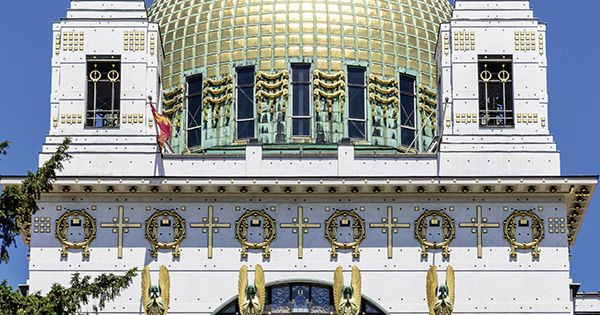 The Church Of St Leopold Better Known As The Kirche Am Steinhof Was Designed By Otto Wagner Architecture Historical Architecture Church