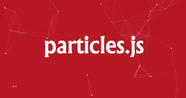 Particles Js Javascript Library For Creating Particles Javascript Particle Animation Background Effect Lightweight Graphic Design Fonts Web Design Programming Tools