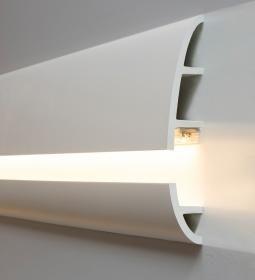 C374 Antonio L 2m Design Stuck Eckprofil Led Wandleiste Eckleiste Fur Indirekte Beleuchtung Orac Decor By Ul Led Beleuchtung Beleuchtung Wohnzimmer Beleuchtung