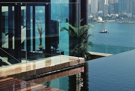 The Intercontinental Hotel, Hong Kong Room with the View: Presidential Suite With
