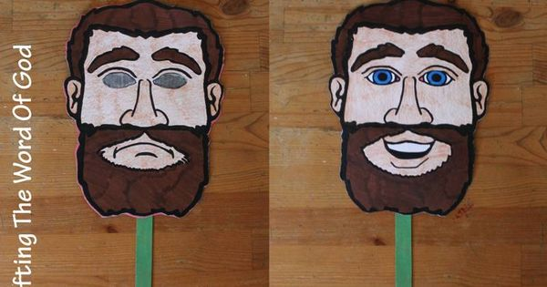 pauls conversion mask  craft to make that shows paul when