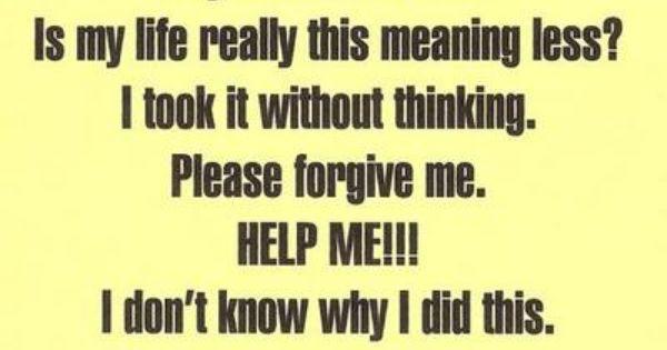 Sorry, please forgive me | I'm really sorry. Please ...
