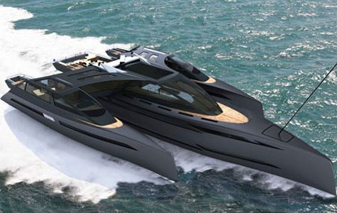 Futuristische luxusyachten  The more I look at this luxury yacht, it reminds me of the ...
