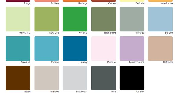 Chalk Paint Colors Home Depot