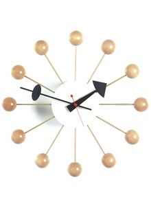 George Nelson Clock Clock Nelson Ball Clock Retro Wall Clock