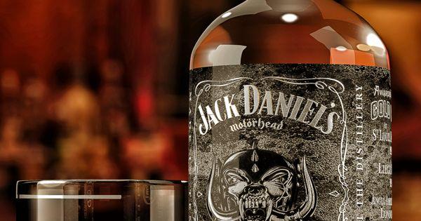 foto de Jack Daniel's Motorhead Packaging Bronze Pinterest Jack daniels