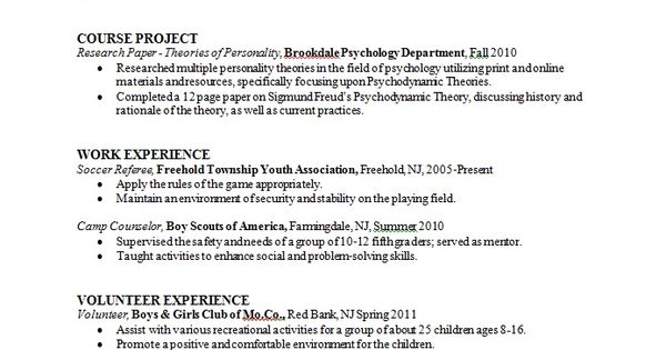 sample resume format psychology graduate school admissions photo - clinical child psychologist sample resume