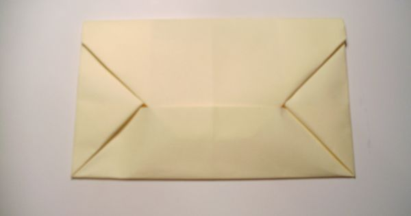 Origami 39 Trapper 39 Envelope From A4 Piece Of Paper Also