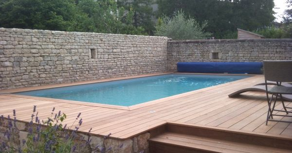 Diff rentes constructions de piscines bois semi enterr es for Piscine teck semi enterree