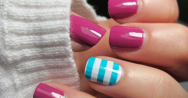 winter nails | See more nail designs at http://www.nailsss.com/acrylic-nails-ideas/3/