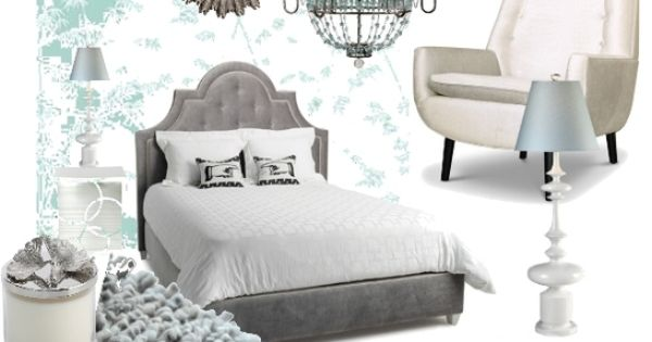 This is gorgeous- I want this bed for the Bling bedroom