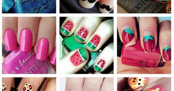 Fun nail ideas! creative nailart ScotchStyle