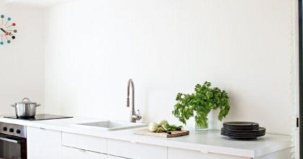 Cuisine Blanche En Longueur Cuisine En Longueur Ikea Cuisine Ikea I N T E R I O R S