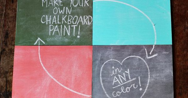 75 Great DIY Projects with Chalkboard Paint