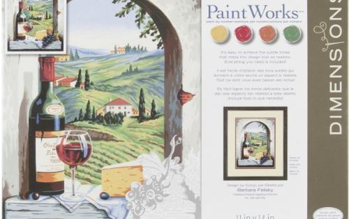 Dimensions Paint By Number Craft Kit Tuscan View Dimensions Https Www Amazon Com Dp B007n51fy0 Ref Cm Sw R Paint By Number Painting Kits Painting