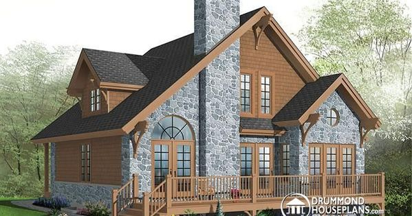 W2957 modern rustic chalet 3 bedrooms large terrace for Terrace house season 3