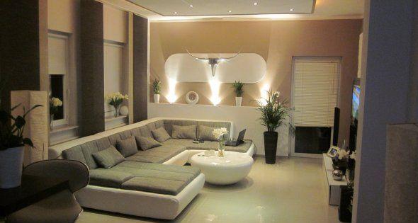 wohnzimmer 'wohnzimmer / küche' - mein domizil - zimmerschau | p, Hause ideen