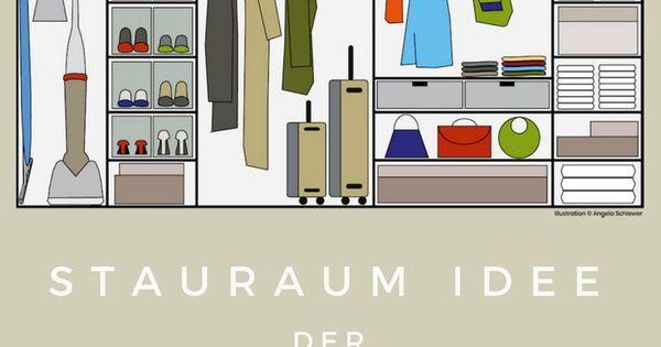 Ausmisten Und Eine Geniale Stauraum Idee Fur Deinen Schrank Stauraum Ideen Stauraum Schrank Stauraum