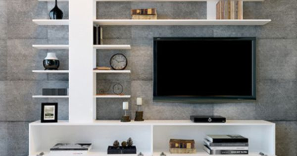 Tv rack modern  Quality Large TV cabinet. This luxury white TV Stand... Ample ...
