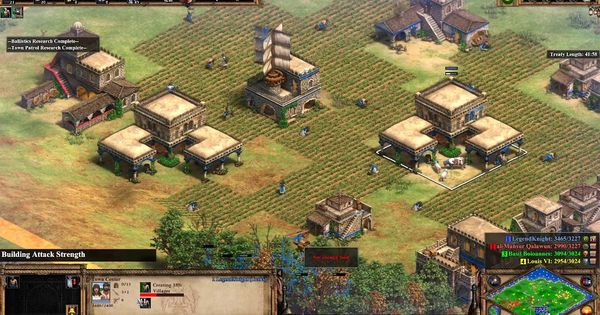 Age Of Empires 2 Definitive Edition Gameplay 2v2 Age Of Empires Empire Gameplay