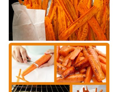 Carrot Chips glutenfree