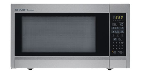 R 651zs Microwaves Countertop Microwave Sharp Stainless