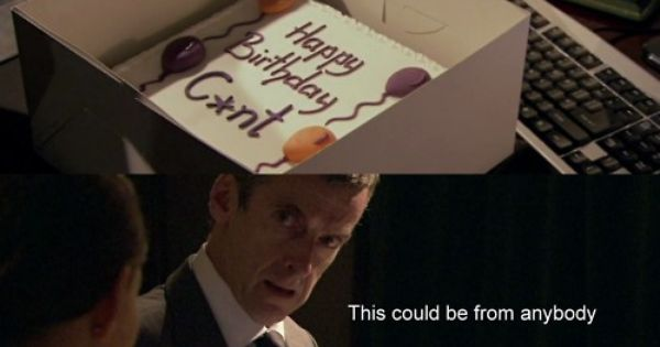 Peter Capaldi Birthday Cake