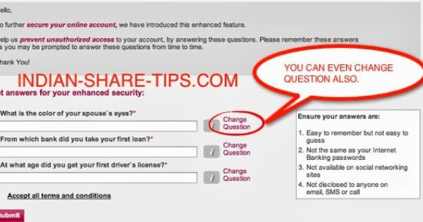 Axis Bank Introduces Personal Questions As Added Security In Online Banking Transaction This Or That Questions Personal Questions Online Banking