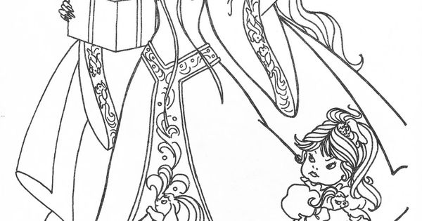 Lady lovely locks coloring book coloring pages for Lady lovely locks coloring pages