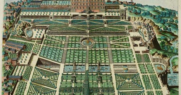Pirro ligorio jardines t voli de villa d 39 este dibujo for Jardines tivoli zona 9