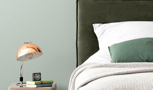 Ruhig Und So Schon Schonerwohnen Designfarben Schonerwohnenfarbe Schonerwohnenkollektion Gr Schoner Wohnen Wandfarbe Wandfarbe Grun Schoner Wohnen Farbe