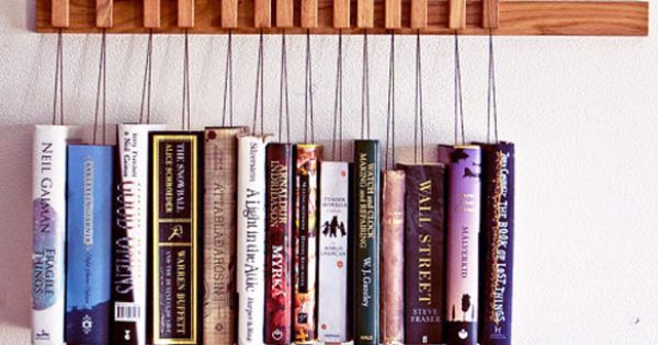 Oak Wooden Book Rack