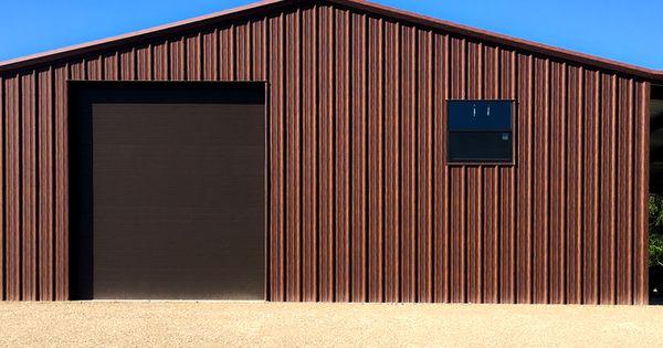 Corten Azp Raw R Panel Pbr Metal Roofing In 2020 Corten Metal Roof External Cladding