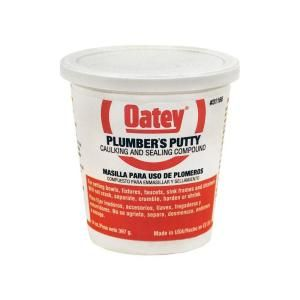 Oatey 14 Oz Plumber S Putty 311662 With Images Plumber Flat