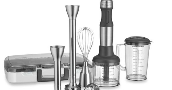 View A Larger Version Of This Product Image Hand Blender Kitchen Aid Kitchenaid Immersion Blender