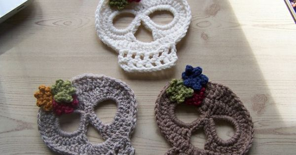crocheted skulls!!!…… these are adorable! | followpics.co ...