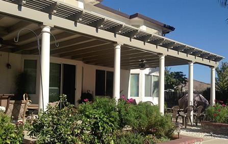 combination patio covers covered