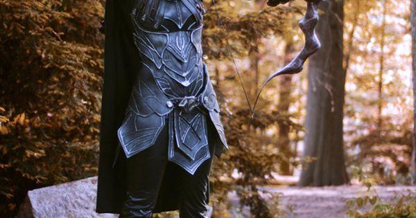 Epic Handmade Skyrim Armor Cosplay Follow The Links