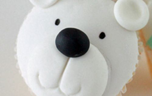 Adorable Polar Bear Cupcake Tutorial
