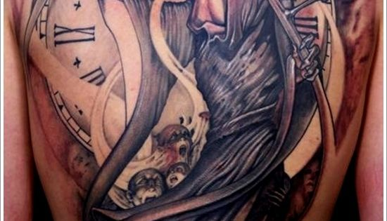 La faucheuse tattoo pinterest la faucheuse tatouages de cheveux et tatouages - Tatouage la faucheuse ...