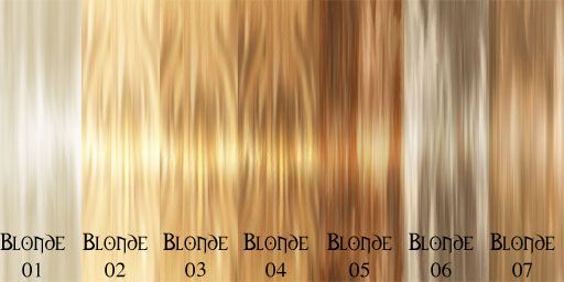 Hair Color Chart I Like 3 Hair Color Chart Blonde Hair Color