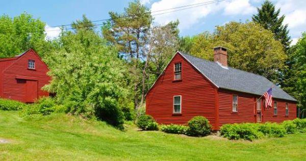 Antique Cape For Sale York Maine Via Maine Craigslist Colonial House New England Homes House Exterior