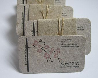 Eco Friendly Business Cards Google Search Handmade Paper Business Cards Recycled Paper Business Cards Eco Friendly Business Cards
