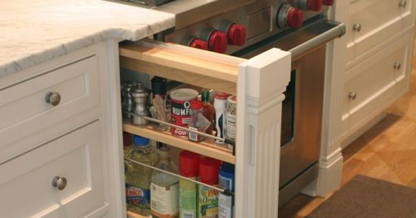 Spices storage idea