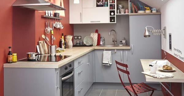 Coin repas dans une petite cuisine comment l 39 am nager - Coin repas petite cuisine ...